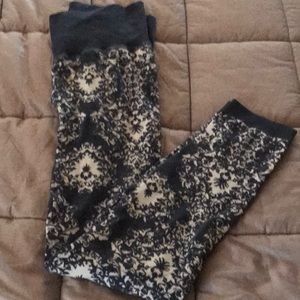 Free People Cotton Printed Leggings size XS